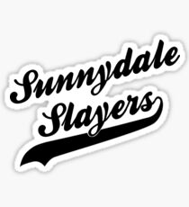 Sunnydale Slayers Sticker