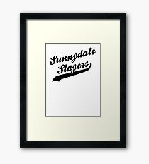 Sunnydale Slayers Framed Print