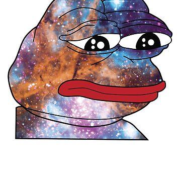 Rare Cosmic Pepe Dank Meme T Shirt by jgmorga3