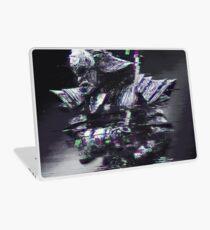 Glitched Samurai Laptop Skin