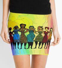 Sisters in Diversity Dress Mini Skirt