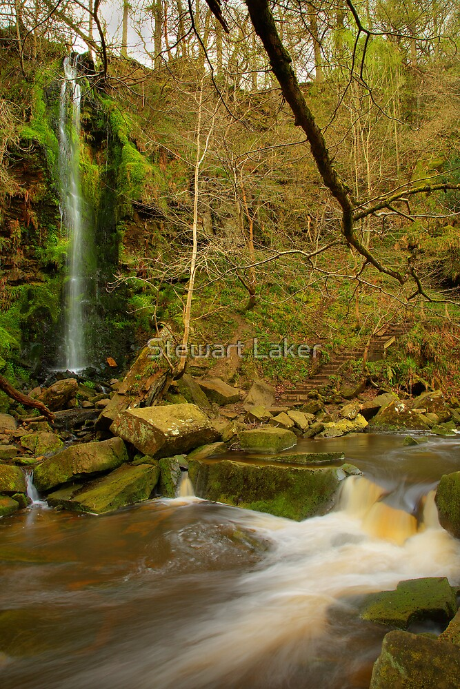 Mallyan Spout Water Fall by Stewart Laker