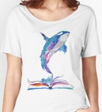 whale dream Women's Relaxed Fit T-Shirt