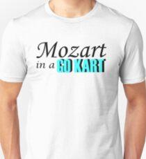 Mozart in a Go Kart Unisex T-Shirt