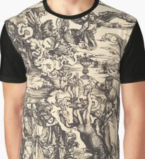 Albrecht Dürer or Durer The Babylonian Whore Graphic T-Shirt