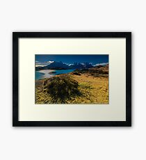 Evening Towers Framed Print