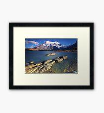 Morning Bay Framed Print