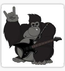 Rock Gorilla Sticker