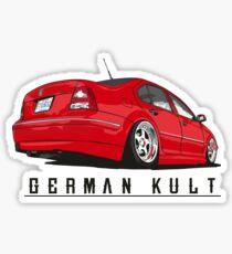 German Kult - Jetta MK4 GLI Sticker