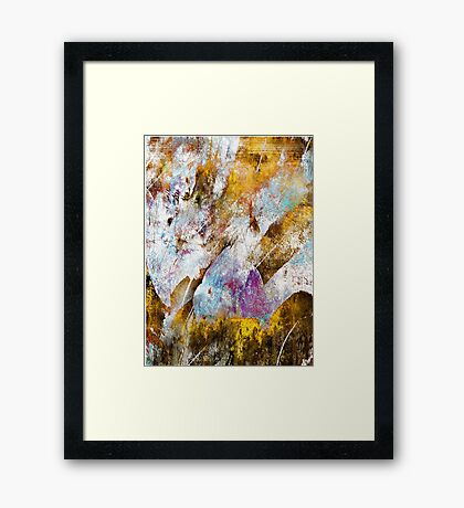 Lung Capacity Framed Print