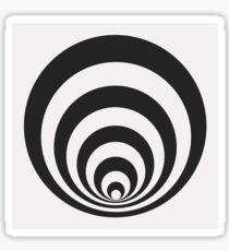 Geometric series - tunnel  Sticker