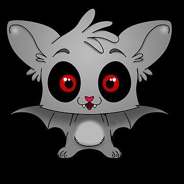 Cute Bat by kijkopdeklok