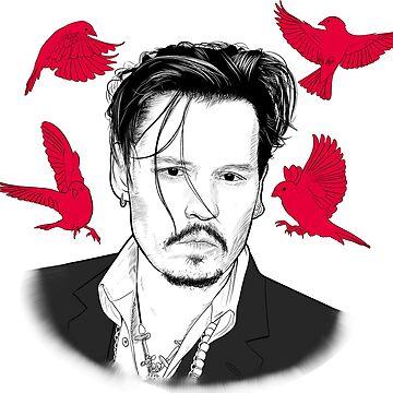 Johnny Depp by BenDraw