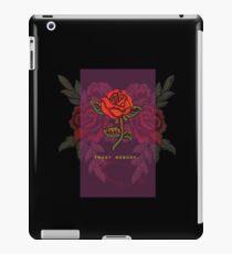TRUST NOBODY ROSE SHIRT HYPE iPad Case/Skin