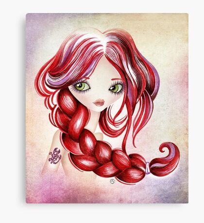 Scorpio Girl Canvas Print