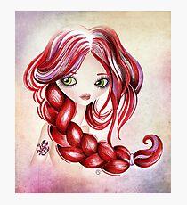Scorpio Girl Photographic Print
