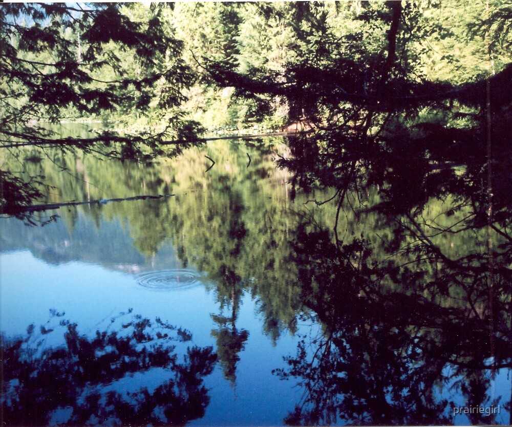 Alice Lake in Summer by prairiegirl