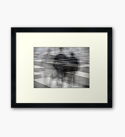 the Ghosts after the Holocaust Framed Print