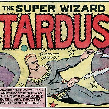 Stardust the Super-Wizard - Design #2 by bnolan