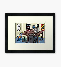 80's Bedroom Framed Print