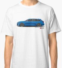 AUDI RS6 Avant in Rotiform BLQ Classic T-Shirt