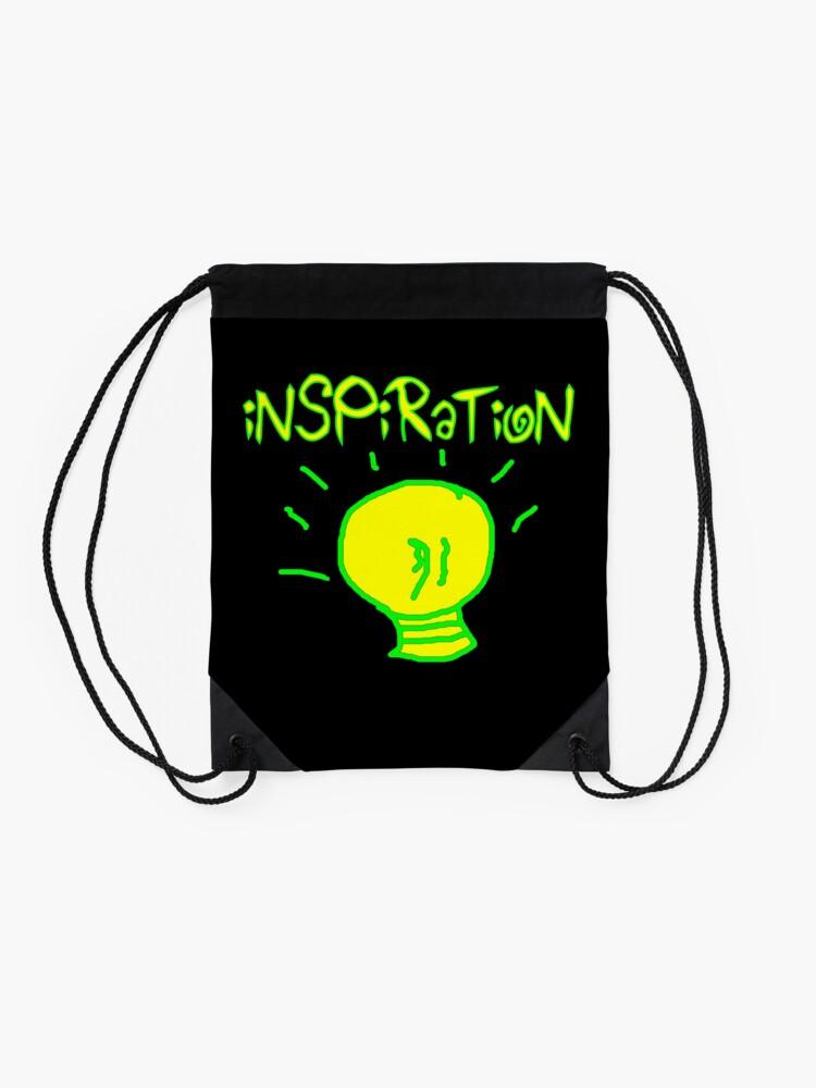 Alternate view of Inspiration Drawstring Bag