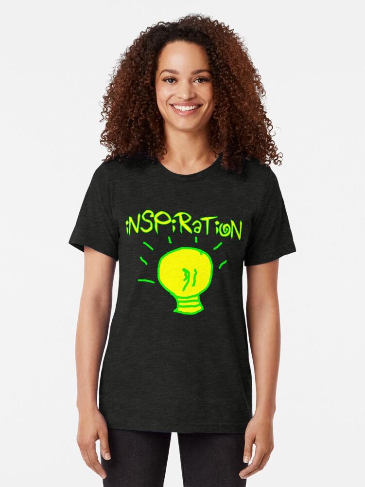 Alternate view of Inspiration Tri-blend T-Shirt