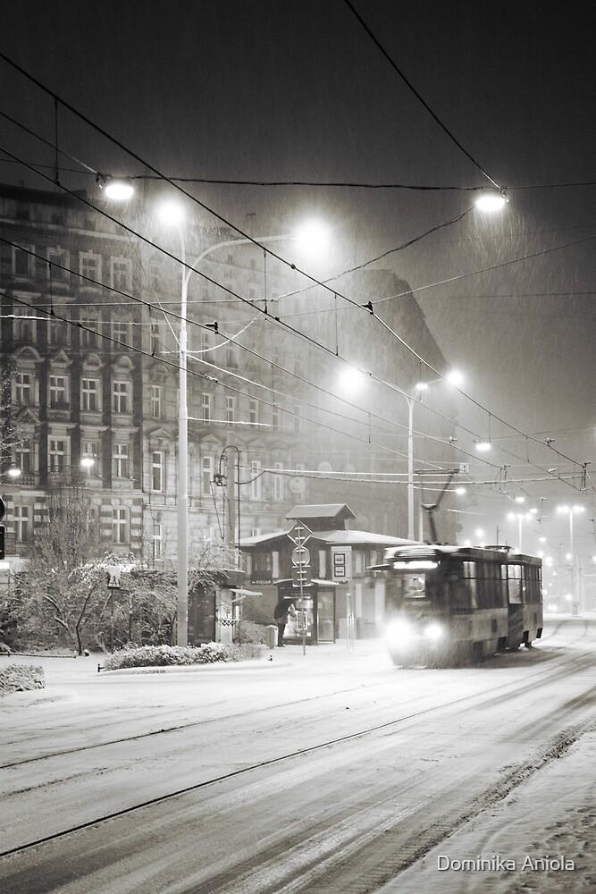 It's snowing by Dominika Aniola