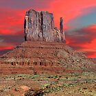 SUNRISE - MONUMENT VALLEY by Michael Sheridan