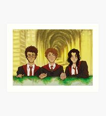 Prongs, Moony, Padfoot Art Print