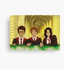 Prongs, Moony, Padfoot Canvas Print