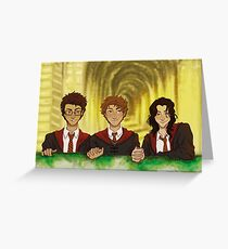 Prongs, Moony, Padfoot Greeting Card