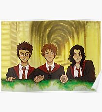Prongs, Moony, Padfoot Poster