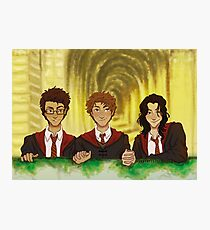 Prongs, Moony, Padfoot Photographic Print