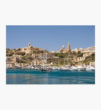 Mġarr Harbour, Gozo Photographic Print