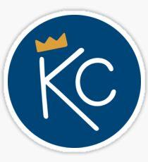 Kansas City Crown - blue Sticker