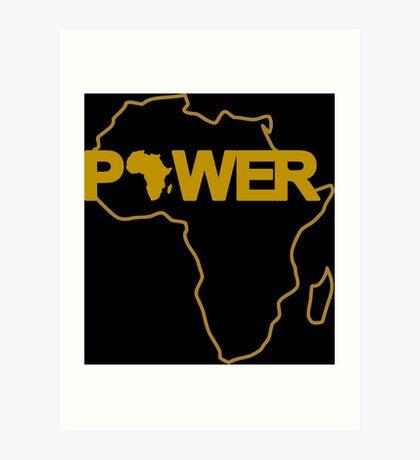 Black Power 3.0 Art Print