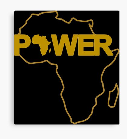 Black Power 3.0 Canvas Print