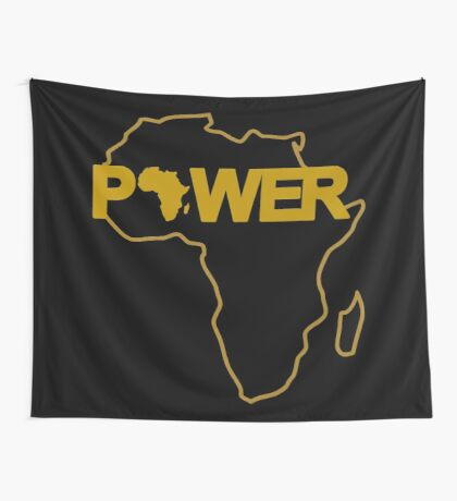 Black Power 3.0 Wall Tapestry