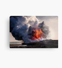 Kilauea Volcano at Kalapana 8 Metal Print