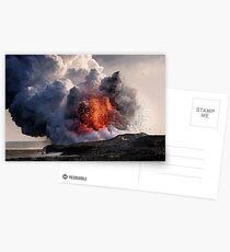 Vulkan Kilauea bei Kalapana 8 Postkarten