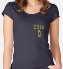 221B Knocker Women's Fitted Scoop T-Shirt