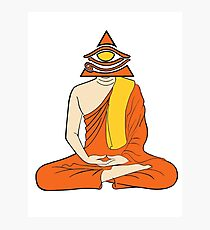 Third Eye Monk Photographic Print