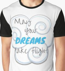 May Your Dreams Take Flight Graphic T-Shirt