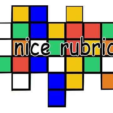 Nice Rubric Stuff by MentosCubing
