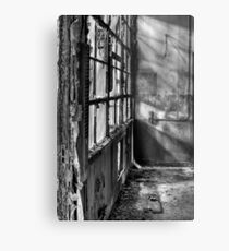 Decayed Office Metal Print