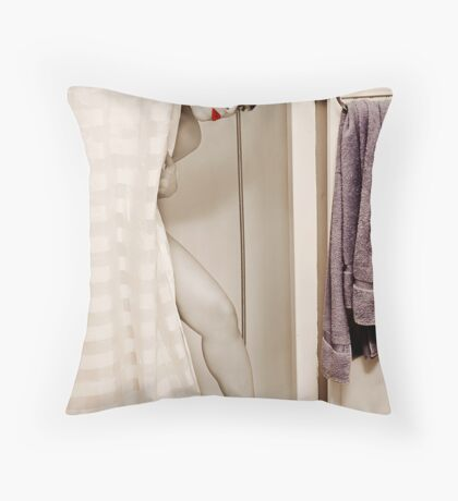 Old Fashion Beauty Throw Pillow