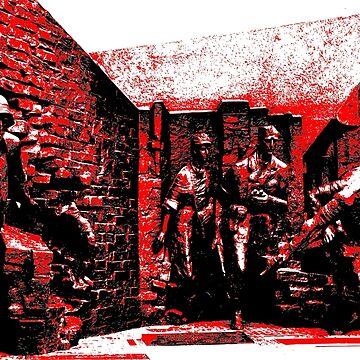Warsaw Uprising 1944 by cartoonblog
