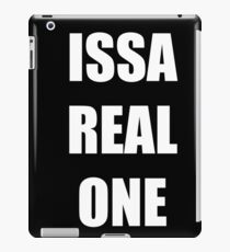 Issa Real One iPad Case/Skin