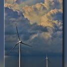 Turbines on the Prairie by Sheryl Gerhard